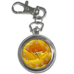 Yellow Rose Key Chain & Watch by Siebenhuehner