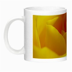 Yellow Rose Glow In The Dark Mug by Siebenhuehner