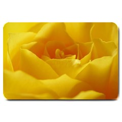 Yellow Rose Large Door Mat by Siebenhuehner