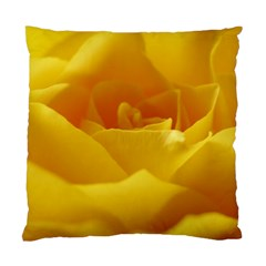 Yellow Rose Cushion Case (single Sided)  by Siebenhuehner