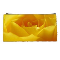 Yellow Rose Pencil Case by Siebenhuehner