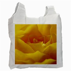 Yellow Rose Recycle Bag (one Side) by Siebenhuehner
