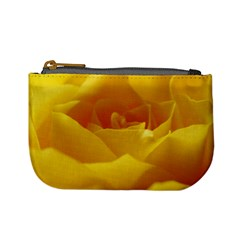 Yellow Rose Coin Change Purse by Siebenhuehner