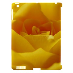 Yellow Rose Apple Ipad 3/4 Hardshell Case (compatible With Smart Cover) by Siebenhuehner