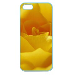 Yellow Rose Apple Seamless Iphone 5 Case (color) by Siebenhuehner