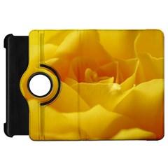Yellow Rose Kindle Fire Hd 7  Flip 360 Case by Siebenhuehner