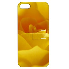 Yellow Rose Apple Iphone 5 Hardshell Case With Stand by Siebenhuehner