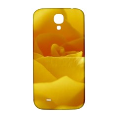 Yellow Rose Samsung Galaxy S4 I9500/i9505  Hardshell Back Case by Siebenhuehner