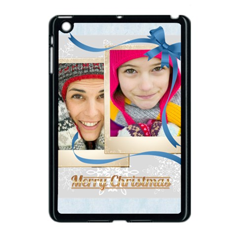 Merry Christmas By Merry Christmas   Apple Ipad Mini Case (black)   I7a59iiduflz   Www Artscow Com Front