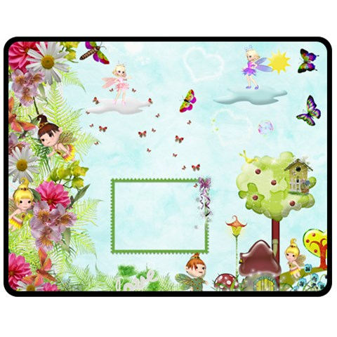 Lynda By Julie   Fleece Blanket (medium)   Mh9ncuz55za4   Www Artscow Com 60 x50 Blanket Front