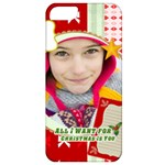 merry christmas - Apple iPhone 5 Classic Hardshell Case