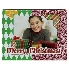 Merry Christmas By Merry Christmas   Cosmetic Bag (xxxl)   Qfi0e3r0h1ib   Www Artscow Com Back