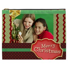Merry Christmas By Merry Christmas   Cosmetic Bag (xxxl)   Yqbd1h69anq3   Www Artscow Com Front