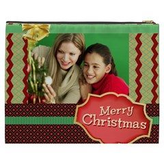 Merry Christmas By Merry Christmas   Cosmetic Bag (xxxl)   Yqbd1h69anq3   Www Artscow Com Back