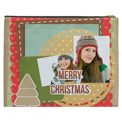 Merry Christmas By Merry Christmas   Cosmetic Bag (xxxl)   Wq78mhsmjgps   Www Artscow Com Back