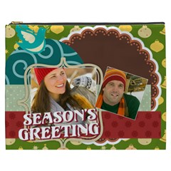 Merry Christmas By Merry Christmas   Cosmetic Bag (xxxl)   4zhndnc008d7   Www Artscow Com Front
