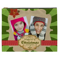 Merry Christmas By Merry Christmas   Cosmetic Bag (xxxl)   E41ki7py5uyg   Www Artscow Com Front