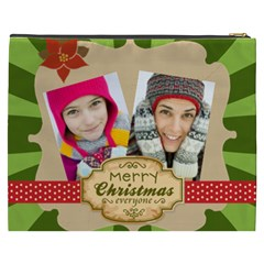Merry Christmas By Merry Christmas   Cosmetic Bag (xxxl)   E41ki7py5uyg   Www Artscow Com Back