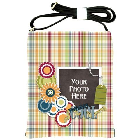 Totally Cool Sling Bag By Lisa Minor   Shoulder Sling Bag   Mpb4snus2fok   Www Artscow Com Front