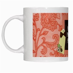 Floral Mug By Lisa Minor   White Mug   Zkgxuy05npv4   Www Artscow Com Left