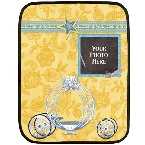 Princess Blanket By Lisa Minor   Fleece Blanket (mini)   Agkerk13qe3p   Www Artscow Com 35 x27 Blanket