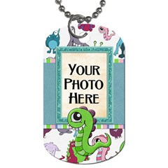 Monster Party Dog Tag By Lisa Minor   Dog Tag (two Sides)   L0ymnu1buuyd   Www Artscow Com Front