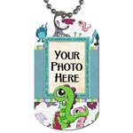 Monster Party Dog Tag - Dog Tag (Two Sides)