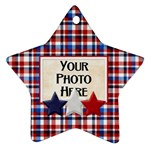 Patriotic Ornament - Ornament (Star)