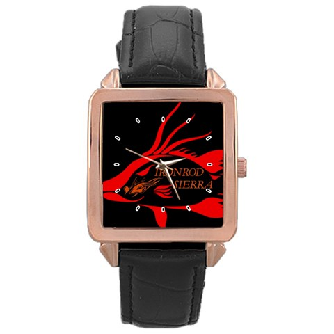 By Heriberto   Rose Gold Leather Watch    Vgsjahulazz2   Www Artscow Com Front