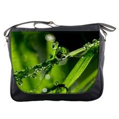 Waterdrops Messenger Bag by Siebenhuehner