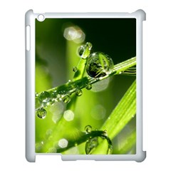 Waterdrops Apple Ipad 3/4 Case (white) by Siebenhuehner