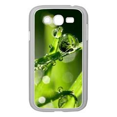 Waterdrops Samsung Galaxy Grand Duos I9082 Case (white) by Siebenhuehner