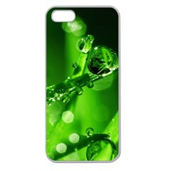Waterdrops Apple Seamless Iphone 5 Case (clear) by Siebenhuehner