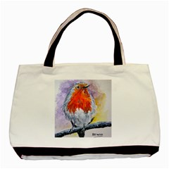 Robin Red Breast Classic Tote Bag by ArtByThree