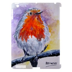 Robin Red Breast Apple Ipad 3/4 Hardshell Case (compatible With Smart Cover) by ArtByThree