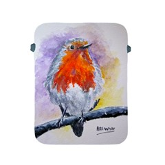 Robin Red Breast Apple Ipad 2/3/4 Protective Soft Case by ArtByThree