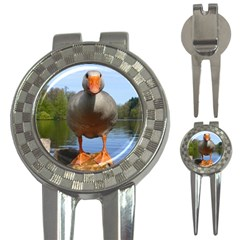 Geese Golf Pitchfork & Ball Marker by Siebenhuehner
