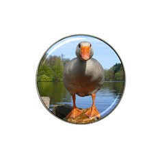 Geese Golf Ball Marker (for Hat Clip) by Siebenhuehner