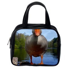 Geese Classic Handbag (one Side) by Siebenhuehner
