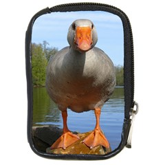 Geese Compact Camera Leather Case by Siebenhuehner