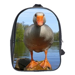 Geese School Bag (large) by Siebenhuehner