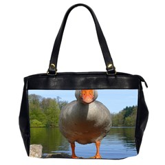 Geese Oversize Office Handbag (two Sides) by Siebenhuehner