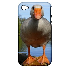 Geese Apple Iphone 4/4s Hardshell Case (pc+silicone) by Siebenhuehner