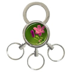 Campanula Close Up 3 Ring Key Chain by Siebenhuehner