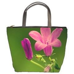 Campanula Close Up Bucket Bag by Siebenhuehner