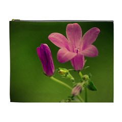 Campanula Close Up Cosmetic Bag (xl) by Siebenhuehner