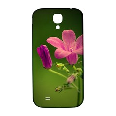 Campanula Close Up Samsung Galaxy S4 I9500/i9505  Hardshell Back Case