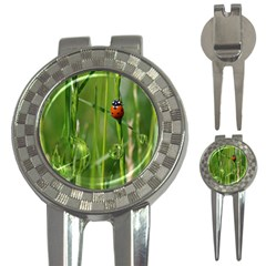 Ladybird Golf Pitchfork & Ball Marker by Siebenhuehner