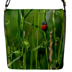 Ladybird Flap Closure Messenger Bag (small) by Siebenhuehner