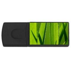 Grass 4gb Usb Flash Drive (rectangle) by Siebenhuehner
